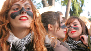 Student Protest in Madrid (Madrid), ,  madridprotest